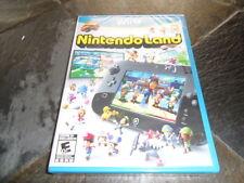 Nintendo Land WiiU BRAND NEW FACTORY SEALED