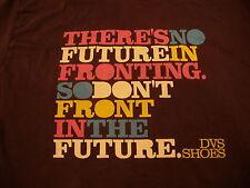 DVS Shoe Company T Shirt. No Fronting Size Slimfit Large