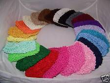 WHOLESALE MIXED LOT 5 newborn baby CROCHET BEANIE kufi HAT great SHOWER gift