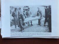 f1l ephemera reprint picture mansfield ww2 home guard the bell inn deeley sibbri