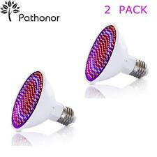 LED Grow Light Bulb 2 PACK , PATHONOR 20W E27/E26 LED Grow Light Plant light Bul