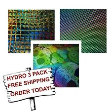 Hydrographic Water Transfer Hydro Dip Film Prism 3 Pack