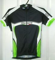 GIORDANA MENS SIZE SMALL CYCLING JERSEY TOP FULL ZIPPER MADE IN ITALY FREE POST