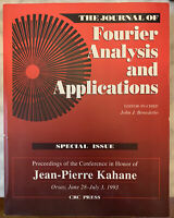 Journal of Fourier Analysis and Applications by Benedetto (1995, UK-B Format...