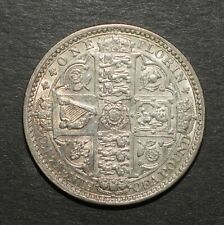 More details for victoria 1849 'godless' florin. very nice
