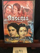 BASERAA / DO MUSAFIR DVD Hindi Movie bollywood Shashi Kapoor Rakhee Rekha! NEW!