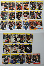 1990-91 Pro Set Vancouver Canucks Team Set of 31 Hockey Cards