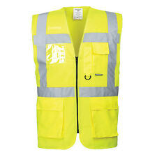 Portwest Hombre Berlín Ejecutivo Camiseta Naranja/Amarillo VARIOS TALLA s476