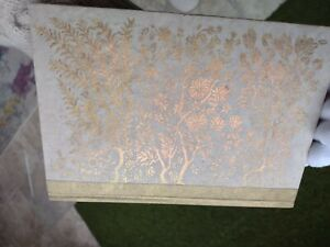 ANTHROPOLOGIE NOTE BOOK JOURNAL WITH HAND MADE NEPALESE TEXTURED PAGES