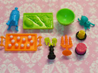 Mattel Monster High Doll ~ ACCESSORIES ~ REPLACEMENT CATACOMBS FOOD LOT