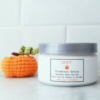 PUMPKIN SPICE Whipped Scented Body Butter with Argan & Jojoba Oil PARABEN FREE