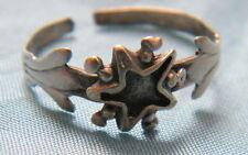 Bague argent sterling étoile de Digne Saint Vincent Bijou ancien,T.54-56,n°162.