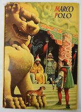 Vintage 1960s Voyage Of Marco Polo Vojtech Kubasta Pop-Up Book