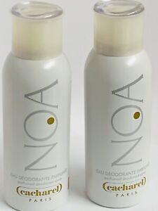 CACHAREL NOA Perfumed Deodorant Spray 5 Oz - 2 Bottles