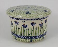 Bunzlauer Keramik Butterdose, Hermetic mit Wasserkühlung, französisch (M136-MC15