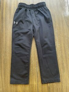 Toddler Boys Black Under Armour Athletic pants Size 3T