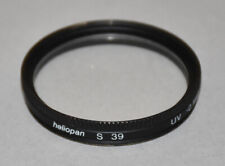 Genuine Heliopan S 39mm UV filter