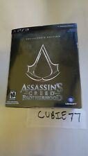 Assassins Creed Brotherhood CE Collector's Edition (Playstation 3, 2010) PS3 NEW