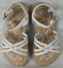 Stride Rite White Strap Sandals Shoes 6.5 M NIB