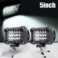 2x 168W 5Inch LED Car Work Light Bar Spot Beam SUV Boat Driving Offroad ATV Lamp