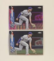 🔥2020 KRIS BRYANT SSP PINK WAVE REFRACTOR + TOPPS CHROME UPDATE ASG CUBS 💎