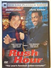 Rush Hour (DVD, 1999, Platinum Series)(NEW) Jackie Chan, Chris Tucker