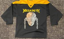 MEGADETH Hockey Jersey size Large
