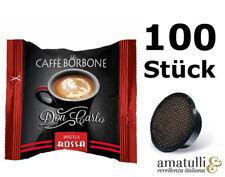 Caffè Borbone ROSSO 100 Kapseln - DonCarlo - kompatibel mit A Modo Mio - Rot