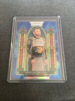 Austin Dillon 2020 Panini Prizm Blue Hyper Stained Glass