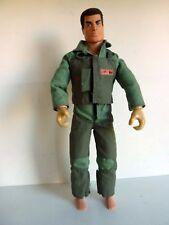 HASBRO ACTION MAN 1998 - MAM -COMBINAISON PILOTE- FLOCK HAIR - BON ETAT GENERAL