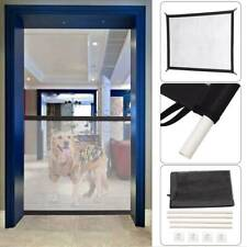 Mesh Magic Pet Dog Gate Guard Pet Safety Enclosure Fence Easy Install Gifts