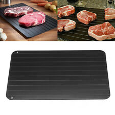 Fast Defrosting Meat Tray Rapid Safety Thawing Tray For Frozen Food 23x16x0.2cm