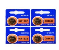 Fast Ship -4- New- Sony -CR 1632 Lithium Batteries-3V-EX- Date -2028 - USA