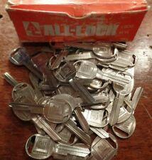 Box 50 OEM General Motors Branded GM ALL-LOCK B47 (K) Uncut Blank Keys NOS