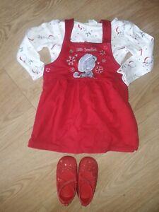 Baby Girl 3-6 months Christmas Dress