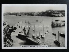 No.12 NEWQUAY FROM THE HARBOUR - COASTWISE by Senior Service Pattreiouex 1939