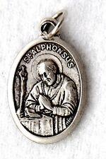 ST ALPHONSUS LIGUORI OLPH Catholic Saint Medal patron arthritis scrupulosity NEW
