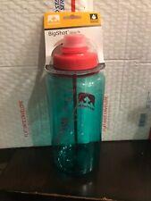 NEW Nathan Tritan Big Shot 32oz Water Bottle 1 Liter Light Blue Pink BPA FREE