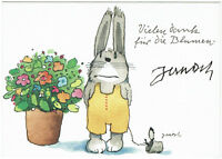 Janosch hand signed Autograph COA Zertifikat - Vielen Dank für die Blumen