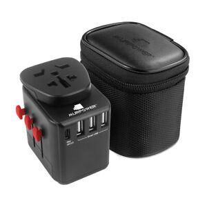 Murpower™ Universal Travel Power Adapter All in One Worldwide Travel Adaptor