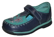 Hush Puppy Girls Blue Suede + Leather Shoes Size 7.5/25 Sweetums