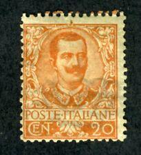 Italy, Scott #80, Victor Emmanuel III, Mint w/Hinge Remnant, 1901