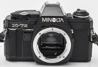 Minolta X-7A Gehäuse Body SLR Kamera Spiegelreflexkamera