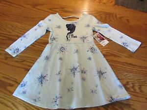 Disney Jumping Beans Frozen Elsa Dress Toddler Girl Size 2T, Limited Edition NWT