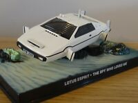 ALTAYA CORGI JAMES BOND 007 LOTUS ESPRIT SUBMARINE WHITE CAR MODEL KY03 1:43