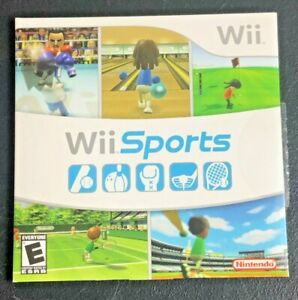 Original 2007 Nintendo Wii Sports CIB Tested and Working