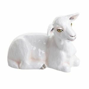 John Beswick Goat White Ceramic Figurine JBF91