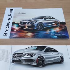 Mercedes-Benz CLA-Class Brochure June 2014 200 220 CDI 180 250 4Matic 45 AMG