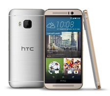 HTC One M9 (Latest Model) - 32GB - Gold on Silver (Unlocked) Smartphone