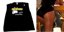 XXL Hooters Uniform Sturgis Sleeveless T-Shirt Biker Silky Blk Shorts